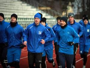 Bucovina Rădăuţi a reluat antrenamentele în efectiv complet. Foto Cristian Plosceac