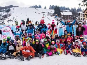 Ziua Mondială a Zăpezii, sărbătorită pe schiuri la Vatra Dornei. Foto: Ștefan Macedon Gheorghiță