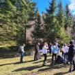40 de tineri voluntari din ATOS au participat la o acțiune de ecologizare în zona Voroneț
