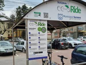 Bătrână accidentată grav de o trotinetă electrică, în fața magazinului Bucovina