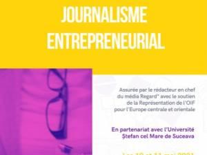 """Stagiu de formare în jurnalism antreprenorial, la Universitatea """"Ștefan cel Mare"""" Suceava"""