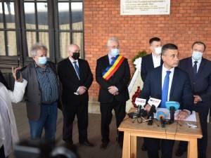 Ambasadorul Israelului a depus o coroană de flori în Gara Burdujeni, în memoria evreilor deportați de aici