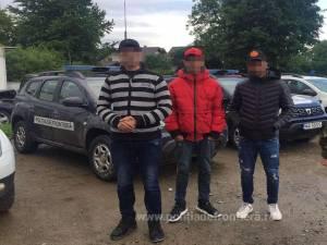 Trei migranți algerieni, prinși la Frătăuții Noi