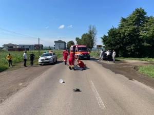 Bătrân accidentat mortal de un șofer beat, între Mitoc și Suceava