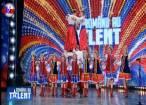 """Ansamblul """"Cervona Kalena"""" din Negostina, astăzi, live, în prima semifinală a show-ului """"Românii au talent"""""""