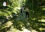 Parcul Şipote a fost toaletat şi igienizat prin munca a aproape o sută de voluntari