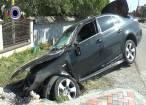 Trei tineri au ajuns la spital în urma unui accident petrecut la Horodnic