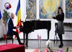 """Ruxandra Cosmovici, flaut, a câştigat trofeul concursului """"Cel mai bun interpret"""""""